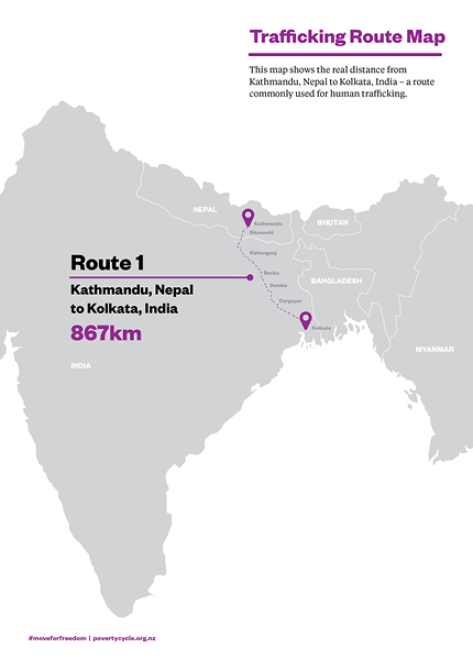 Trafficking Route Map 1