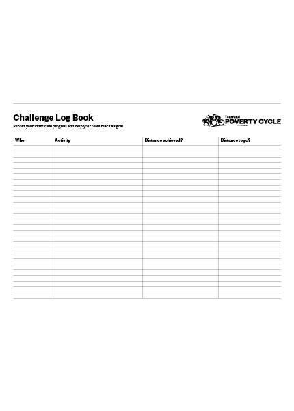 A3 Team Log Book