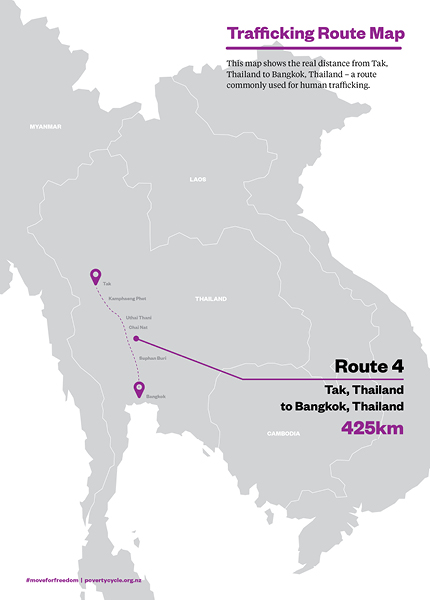 Trafficking Route Map 4