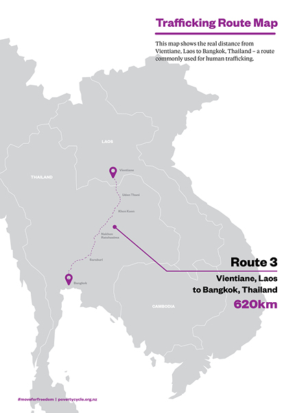 Trafficking Route Map 3